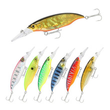 NEW Minnow 10cm 12g for fishing lure Floating wobblers isca artificial pesca peche leurre Hard bass bait pike crankbait goods slow sinking jerkbaits go 011 fishing lures fishing wobblers isca artificial hard bait bass pike lures carp peche leurre pesca