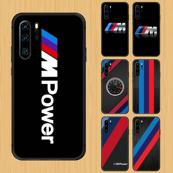 Bmw car logo Phone Case Cover Hull For Huawei P8 P9 P10 P20 P30 P40 Lite Pro Plus smart Z 2019 black cell cover trend bumper image
