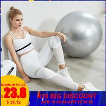 Gym Clothing Sports Wear Outfits  Two Piece Set For Women Leggins Deporte Mujer With Sexy Sport Bra Fitness Top Yoga Pants