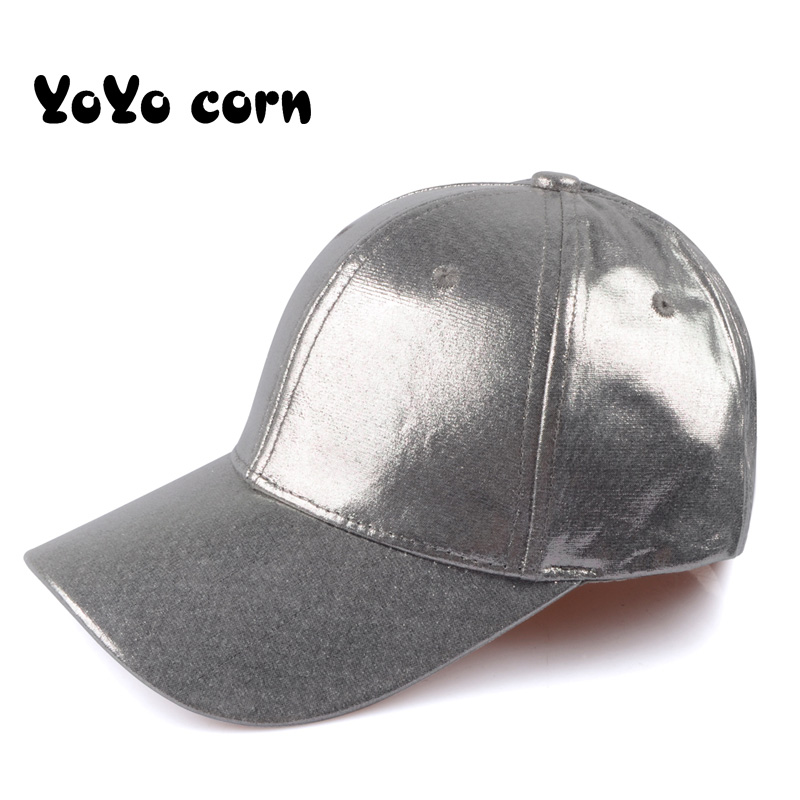 YOYOCORN <font><b>Glitter</b></font> <font><b>Ponytail</b></font> <font><b>Baseball</b></font> <font><b>Cap</b></font> <font><b>Women</b></font> Snapback Dad Hat Messy Bun Summer Hat Female Adjustable Hip Hop Hats image