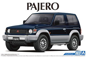 1/24 Assembly Vehicle Model   Mitsubishi V24WG Pajero XR-II `91 05697