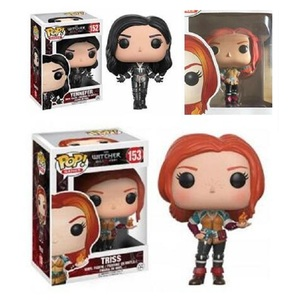 FUNKO POP The Witchers CIRI GERALT Triss 153# Yennefer 152# Vinyl Action Figure Collection Model Toys for Children Birthday Gift