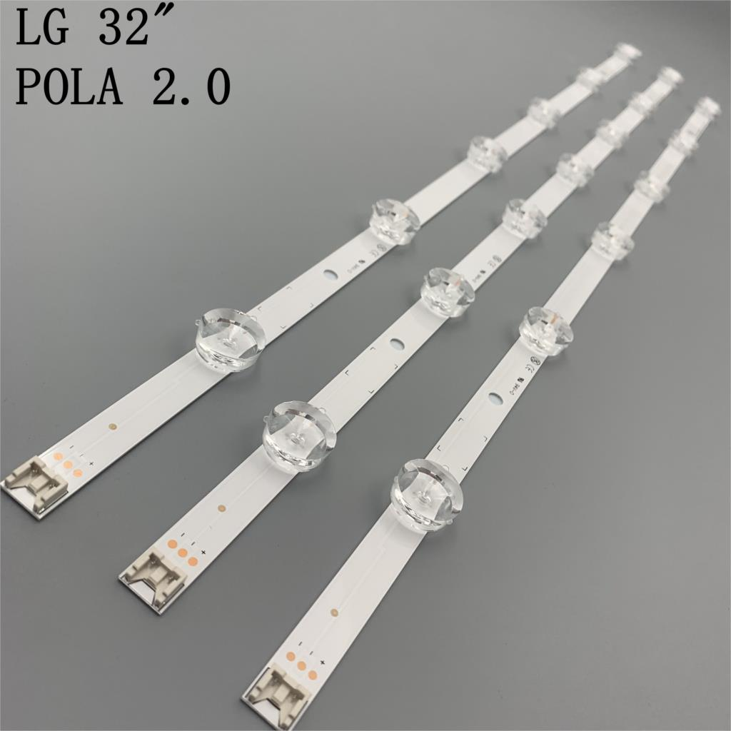 LED backlight strip for TIRA DE LED TV LG 32inch 32LN540B uot pola2 0 32ln54 agf78399401 32LN5707 HC320DXN-VHFPA-21XX
