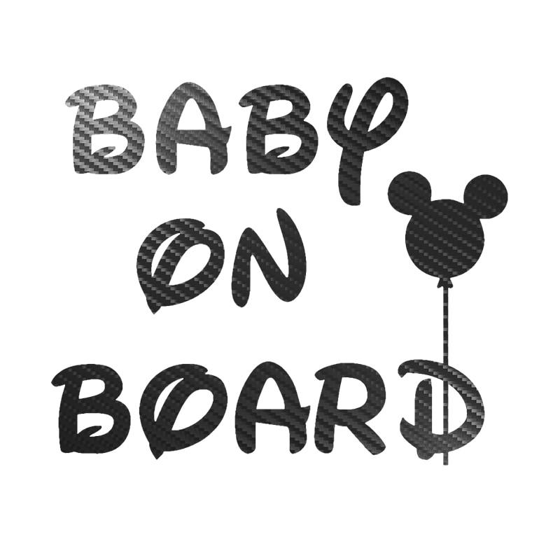 Детская настольная игра-виниловые наклейки на машину углеродного волокна милый детский комбинезон с рисунком в автомобиле наклейка светоо...