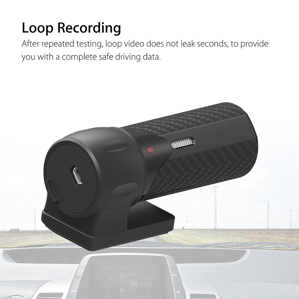 "4G-32G Car DVR 170° Wide Angle Interior Accessory Full HD 2.4"" Video Cam"