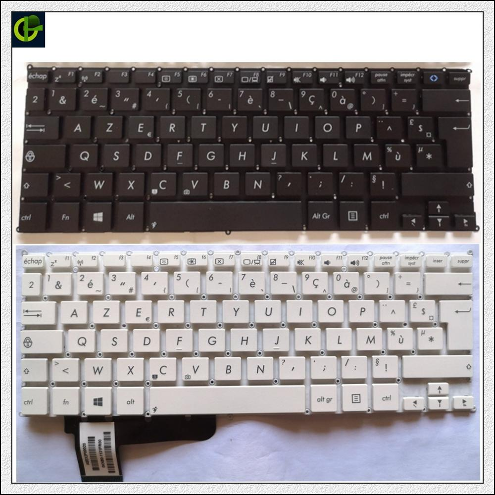 French Azerty Keyboard for Asus VivoBook X200 X200CA X200LA <font><b>X200MA</b></font> EeeBook X205T X205TA TP200S TP200SA 0KNB0-1121FR00 FR image