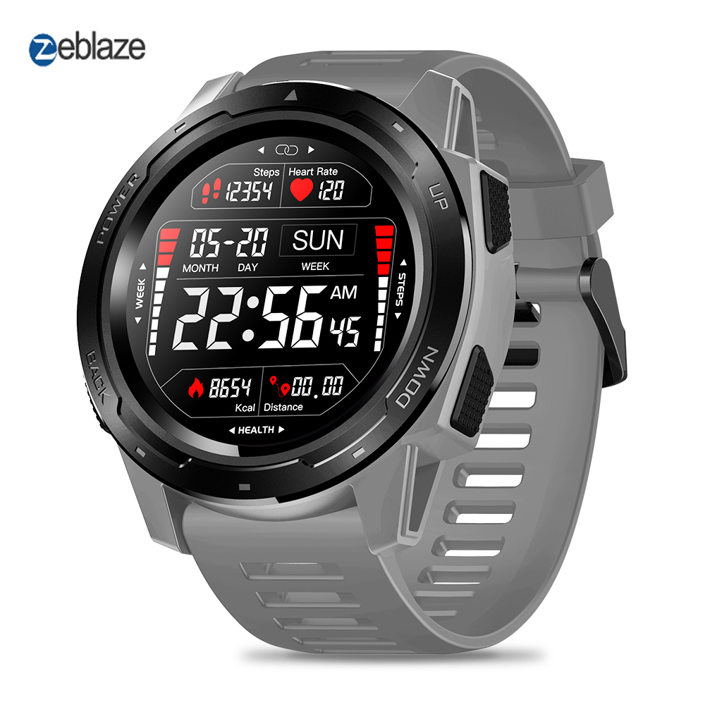 Zeblaze VIBE 5 Bluetooth montre intelligente moniteur de fréquence cardiaque étanche Bracelet intelligent Fitness Tracker podomètre montre-Bracelet numérique
