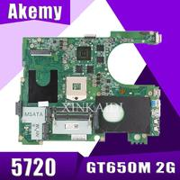 17R N7720 For DELL 5720 7720 motherboard CN 072P0M 072P0M motherboard DA0R09MB6H1 DA0R09MB6H3 2D GT650M 2 GB trabalho 100%