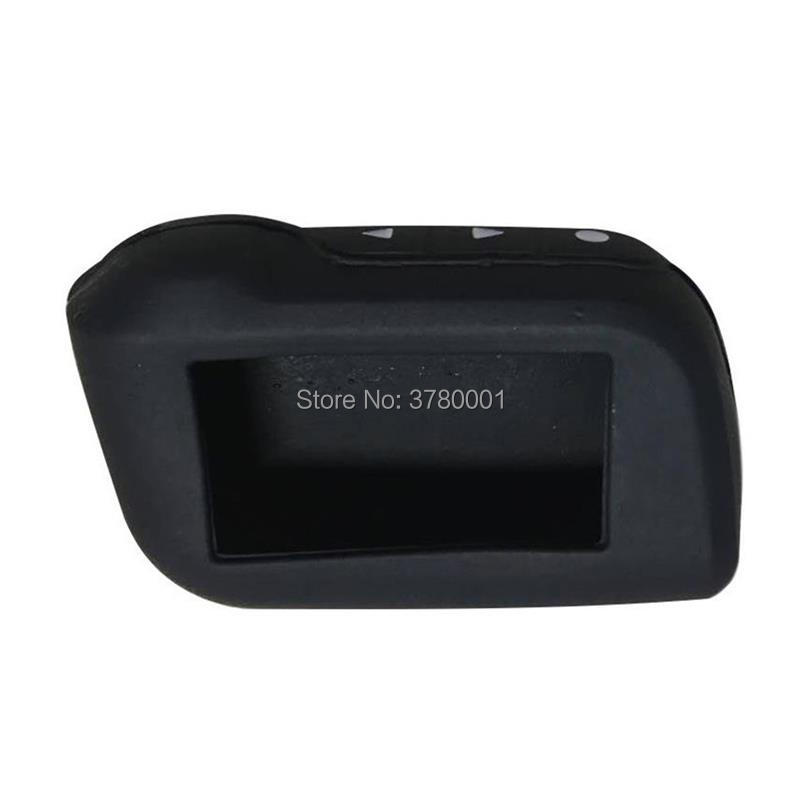 Wholesale A93 Silicone Key Case For Vehicle Security 2 Way Car Alarm System Starline A93 A63 A36 A39 LCD Remote Control Keychain