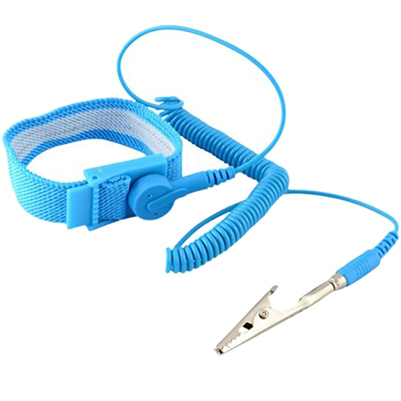 Adjustable Antistatic Wrist Strap With Ground Wire Reusable High Quality Wrist Strap
