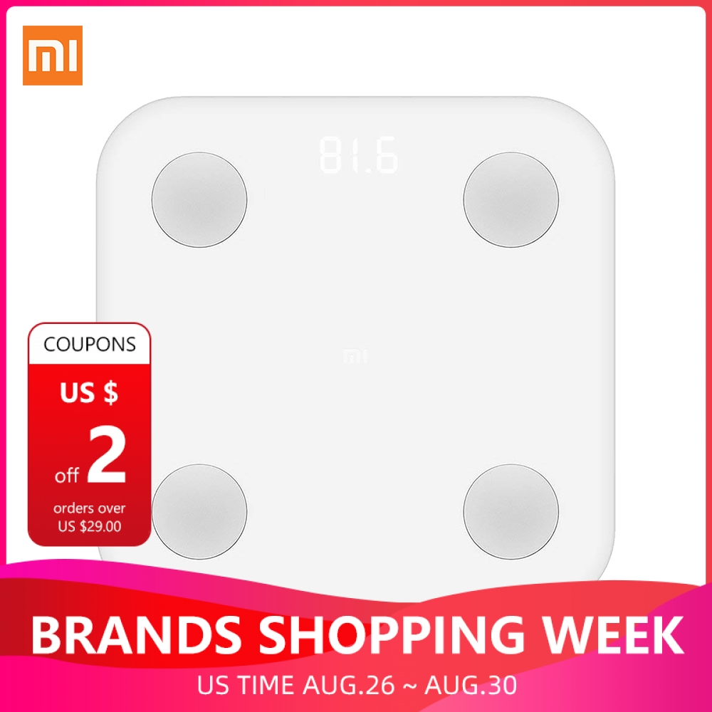Xiaomi Smart-Scale Composition Bathroom Health Bluetooth-4.0 Original Digital