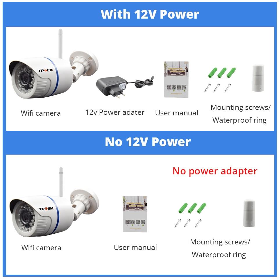 H923f6645c18e4d169a8241884afd00cfM HD 1080P IP Camera Outdoor WiFi Home Security Camera 720P 3MP Wireless Surveillance Wi Fi Bullet Waterproof IP Onvif Camara Cam