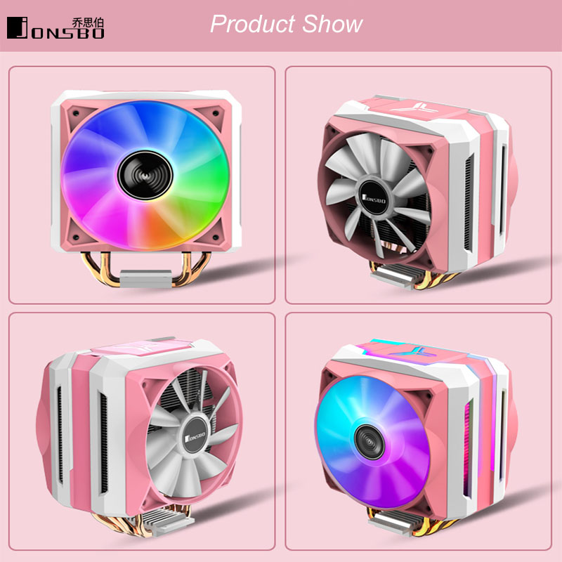 Jonsbo Tower CPU Cooler CR1100 6 тепловых труб PWM 4Pin CR-1100 радиатор охлаждения для Intel LGA 775/1150/1151/1155 AMD AM4/AM3 +