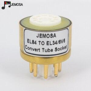 Image 3 - Amplificador de tubo de vacío de Audio HIFI, 1 unidad, 6BQ5 6P14 6P15 EL84 a EL34 6V6 6L6 6L6GT 6P3P 6P6P DIY
