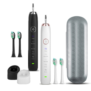 Image 1 - Sarmocare Ultrasonic Sonic Electric Toothbrush Rechargeable S100 5 models Wireless IPX7 Waterproof Vibrator For Toothbrushes
