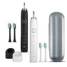 Sarmocare超sonic sonic電動歯ブラシ充電式S100 5 モデルワイヤレスIPX7 防水バイブレーター歯ブラシ