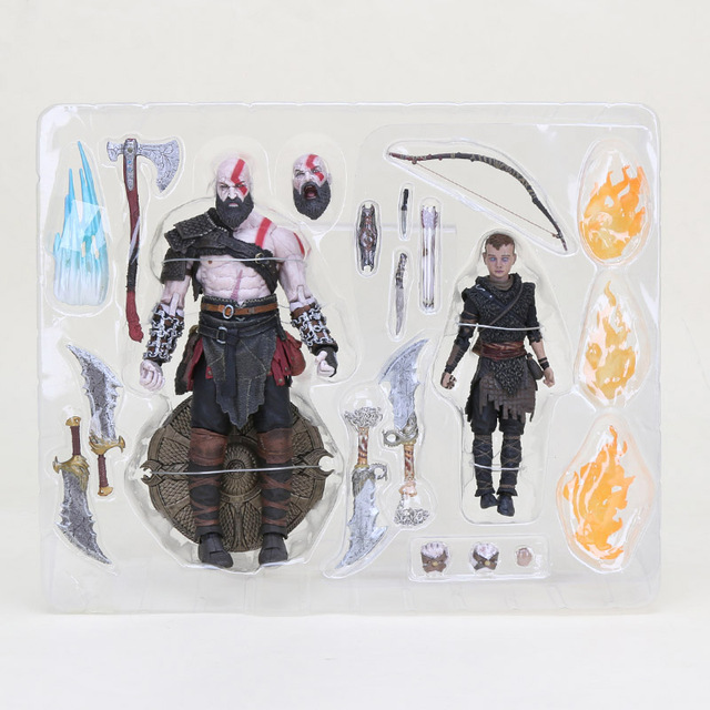 Us 16 94 20 Off 18cm God Of War 3 Ghost Of Sparta Ultimate Kratos Pvc Action Figure Kratos Collection Toy Doll Kids Xmas Gifts In Action Toy
