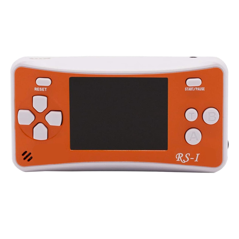 2 5 inch LCD Portable Game Console Best Gift for Kids on Christmas Orange