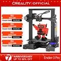 CREALITY 3D-принтеры Ender-3 PRO Модернизированный Магнитный алюминиевая плита горячего отжига возобновить Мощность отказ Печать Набор масок MeanWell П...