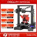 CREALITY 3D Ender-3 профессиональный принтер Модернизированный Магнитный алюминиевая плита горячего отжига возобновить Мощность отказ Печать Наб...