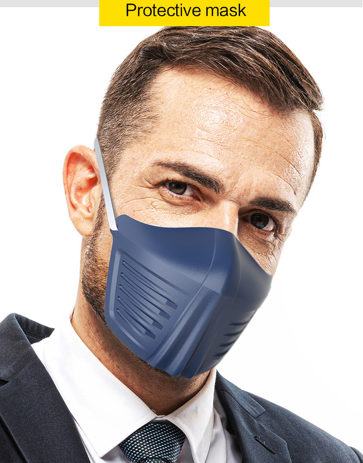 Anti-saliva Mask Face Shields Safety Protective Anti-fog Prevent Saliva Spread Spray-proof Fashion Mouth Mask  Isolation Masks