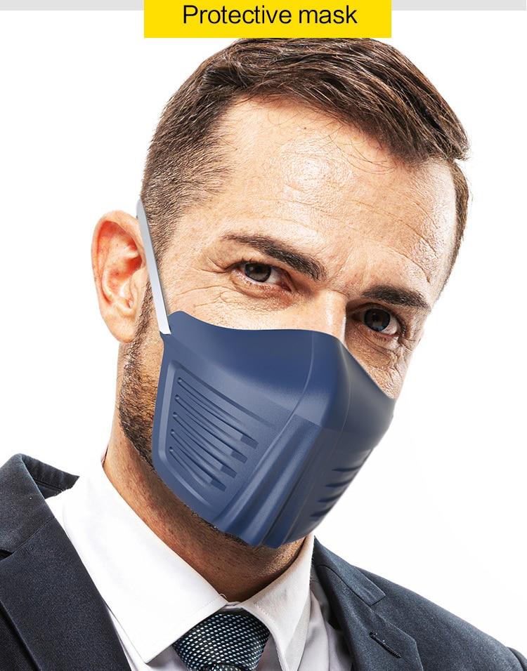 Anti-saliva Mask Face Shields Safety Protective Anti-fog Prevent Saliva Spread Spray-proof Fashion Mouth Mask  Isolation Masks