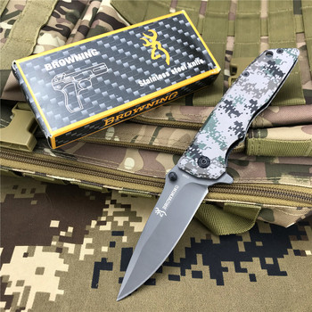 DA80 Folding Knife Tactical High-Hardness Folding Knife Outdoor Hunting Knife Wild Hunting Multifunctional Self-defense Tool stainless steel self defense folding knife hunting camping multifunctional high hardness military survival outdoor fruit knife