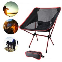 Travel Ultralight Folding Chair Superhard High Load Outdoor Camping Chair Portable Beach Hiking Picnic Seat Fishing Tools Chair cheap CN(Origin) Beach Chair Outdoor folding chair Outdoor Furniture Modern