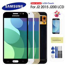 LCD For Samsung Galaxy J2 2015 J200 J200F J200H LCD Display Touch Screen Digitizer Assembly Replacement Can Adjust Brightness(China)