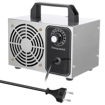 Ozonator 28 g h generator ozonu oczyszczacz powietrza filtr powietrza dezynfekcja sterylizacja czyszczenie formaldehyd filtr powietrza wentylator dla domu tanie i dobre opinie Ozone generator Z tworzywa sztucznego Przyprawy