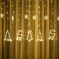 Светодиодный светильник-гирлянда  светодиодный Рождественский Декор для дома  подвесная гирлянда на Рождественское дерево  декоративный о...
