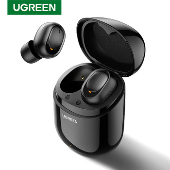 UGREEN TWS Bluetooth Earphone 5.0 True Wireless Earbuds Stereo Handsfree in Ear Phone Gaming Sport Headset