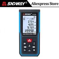 Sndway Laser Afstandsmeter Digitale Afstandsmeter 120M 100M 70M 50M Laser Afstandsmeter Elektronische Niveau Heerser range Finder