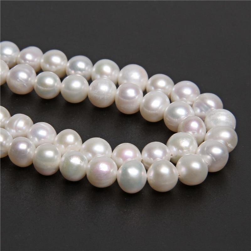 Wholesale Freshwater Natural Pearl Gemstone Round Loose Beads 14/'/'