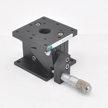 Z axis 60 * 60mm Sigma optical manual high precision micrometer adjustable lifting displacement slide table is 11mm steel
