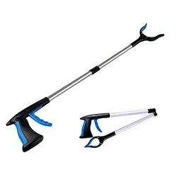 Składane zbieracze ściółki narzędzia do zbierania chwytak Extender Picker chwytaki do śmieci docierające do narzędzia pomocniczego dla wózka inwalidzkiego i osób niepełnosprawnych w Na śmieci klipy od Dom i ogród na