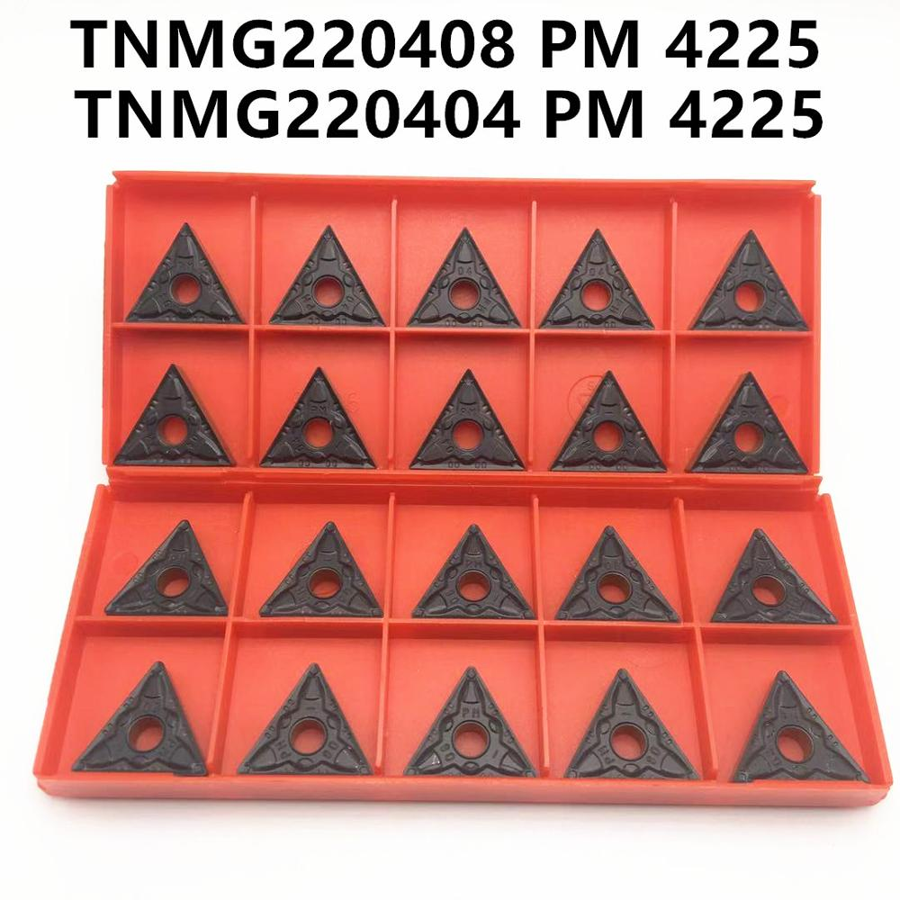 TNMG220404 PM 4225 TNMG220408 PM 4225 Turning Tools High Quality Carbide Inserts CNC Lathe Tools TNMG 220404 TNMG 220408