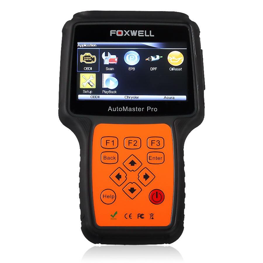 Foxwell NT642 Nt611 Automaster Pro Europäischen-Macht Alle System + EPB + Öl Service Scanner