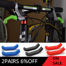 Bicycle Brake Handle Cover Silicone MTB Bike Bicycle Handlebar Protect Cover anti-slip Bicycle Protective Gear Bike accessories cover pl42032 01