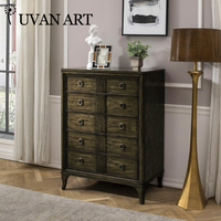 American chest of drawers solid wood foot porch wall cabinet 205R 11