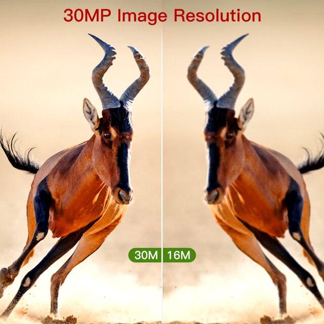 BOBLOV 30MP ghost hunting camera Photo Traps Night Vision Infrared Trail Hunter Camera WildKamera Deer Hunting Camera 1080P 4