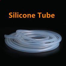 1/3/5 metrów przezroczysty Food Grade rura silikonowa 2 4 6 8 10 12 elastyczny wąż gumowy ogród akwarium miękkie wąż