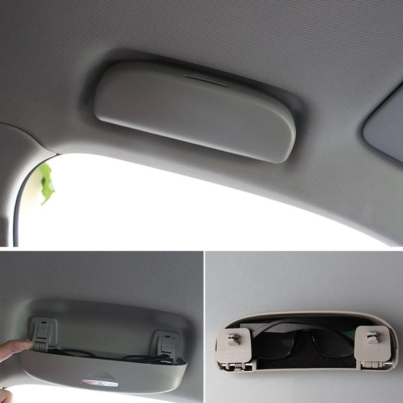 Car Glasses Storage Box Protective Cover Sunglasses Bracket For-Audi A4 / Q3 / Q5 / Full Glasses Case
