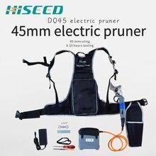 45 мм самый большой диаметр резки Электрический секатор, электрические секаторы 1,77 дюймов CE 6-10 рабочих часов