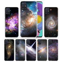 Sky Galaxy Universe Case for Samsung Galaxy A51 A71 5G M31 M21 A91 A41 A31 A11 M51 M11 S20 A21s Hard PC Cubrir Capas Cas