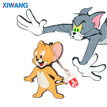 цена на New Mini Cartoon Tom Jerry usb flash drive 128GB 64GB 32GB 16GB 8GB 4GB pendrive pen drive flash memory stick USB 2.0 u disk