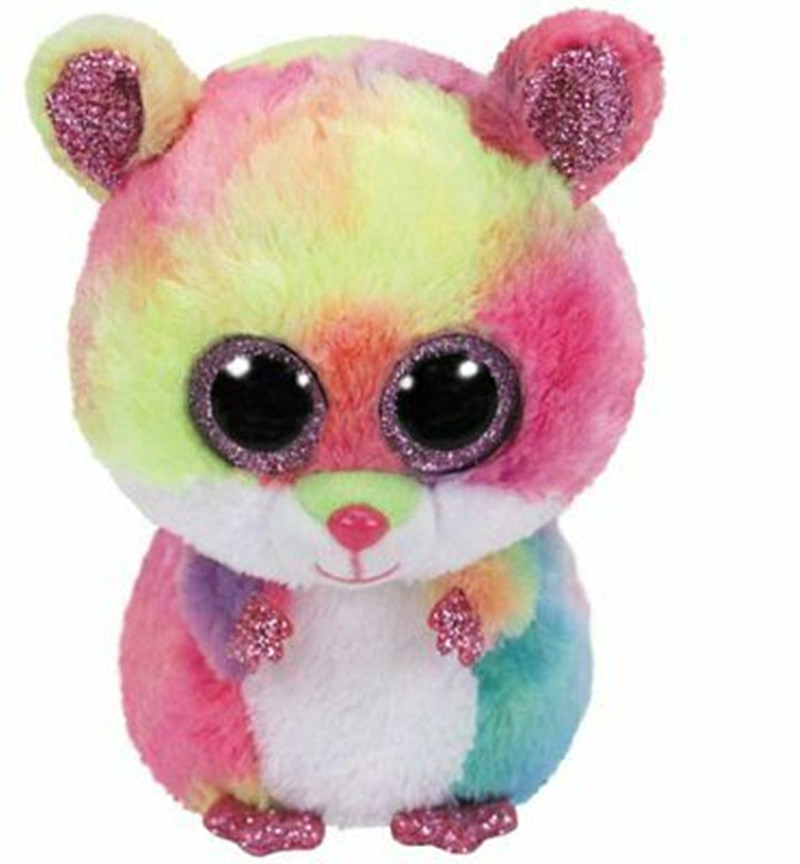 """Rodney Mouse with heart tag and label Big-eyed 1PC 15CM 6/"""" Plush"""