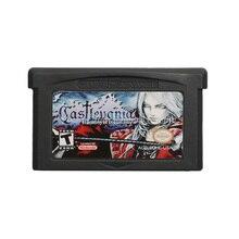 Para nintendo gba cartucho de jogo de vídeo console cartão castlemania harmonia de dissonância inglês idioma eua versão