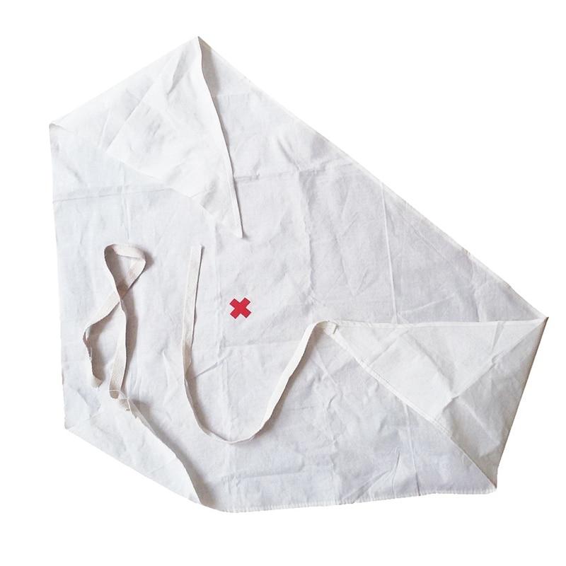 1pc Medical Burn Dressing Bandage Triangular First Aid Kit Wrap Bandage Fracture Fixation Emergency Bandage Wound Care