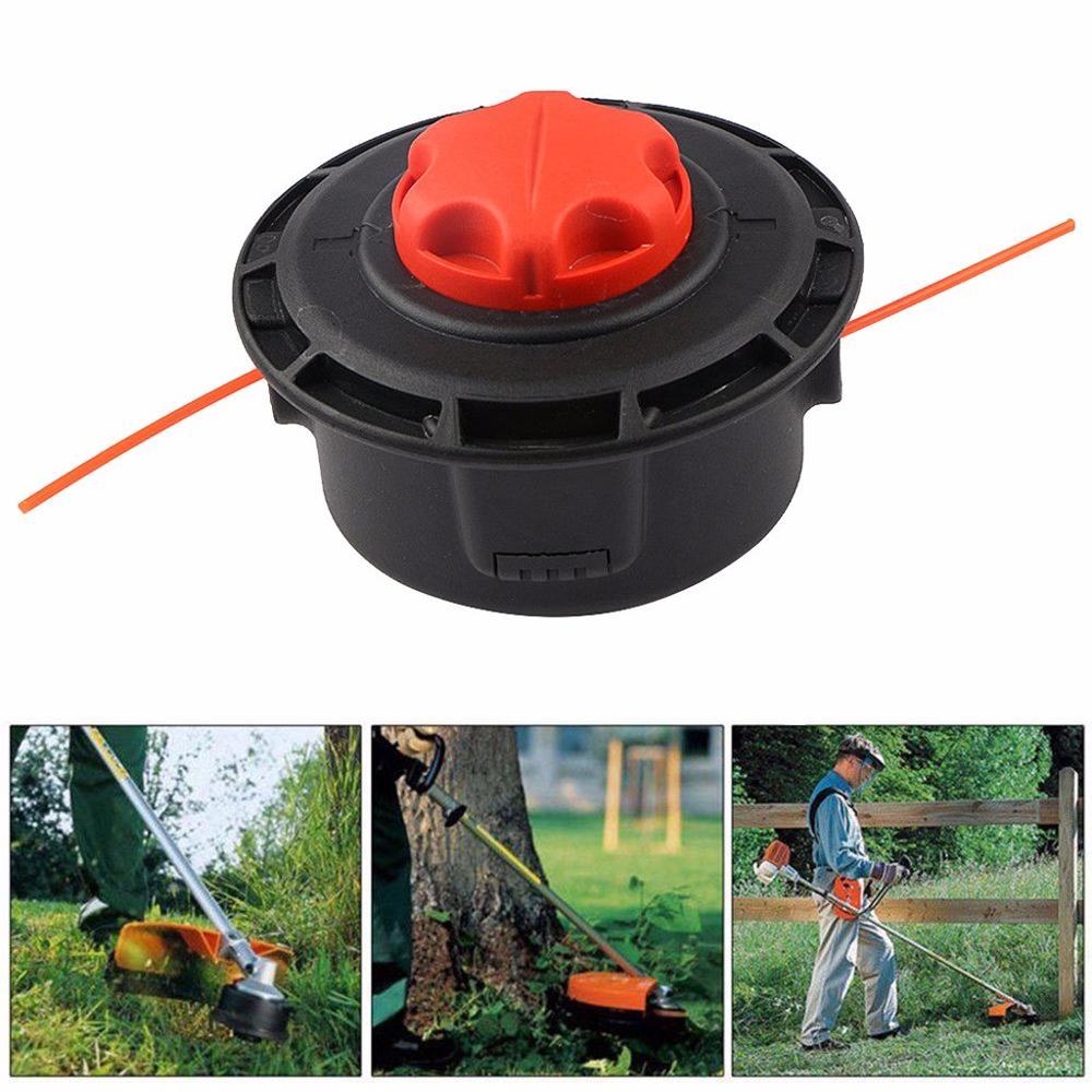 Universal Metal String Grass Trimmer Auto Head For Toro Cutter Garden Grass Lawn Mower Trimmers Tool Accessories